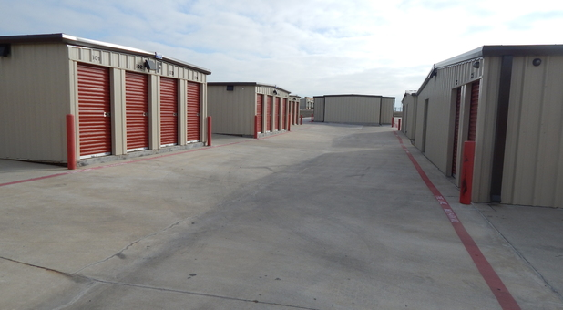 Drive Up Access storage units