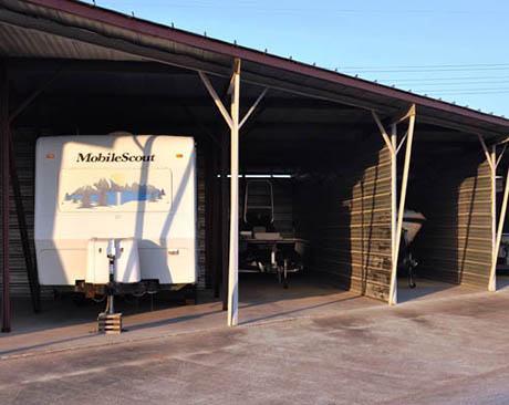RV, Boat and Automobile storage units