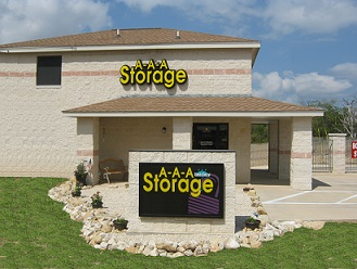AAA Self Storage In Texas Front Door