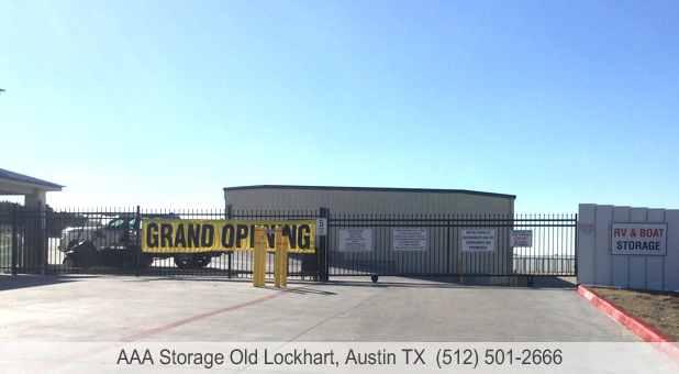 AAA Storage Old Lockhart Austin Texas Drive up Self Storage