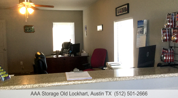 AAA Storage Old Lockhart Austin Texas Rental Office