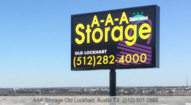 AAA Storage Old Lockhart Austin Texas Brand New Facility
