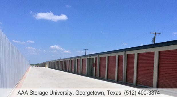 AAA Storage University Georgetown TX Drive Up self storage