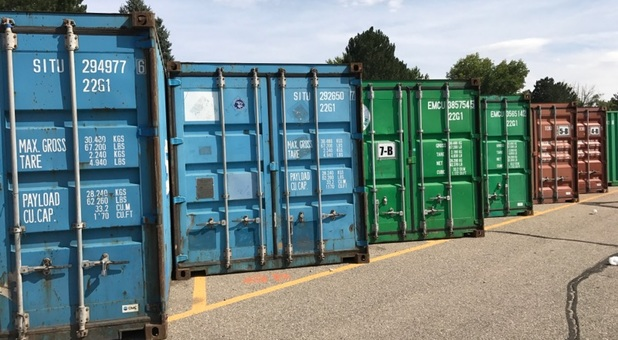 secure shipping containers