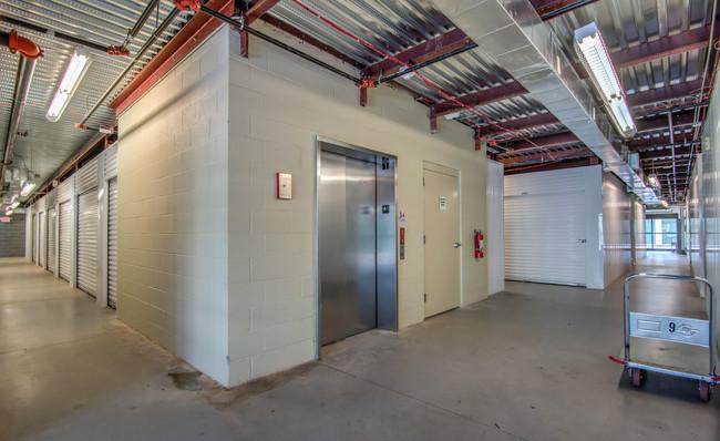 clean storage hall