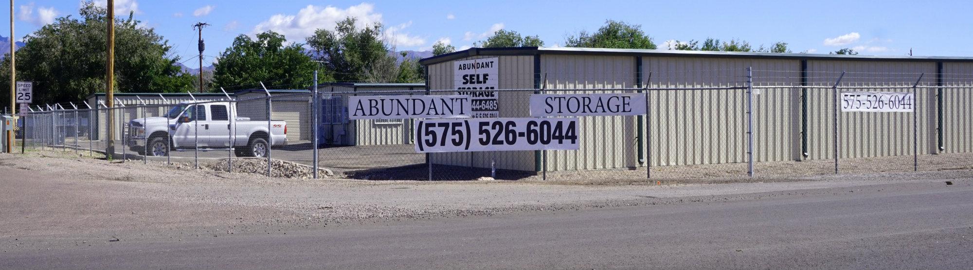 Abundant Storage