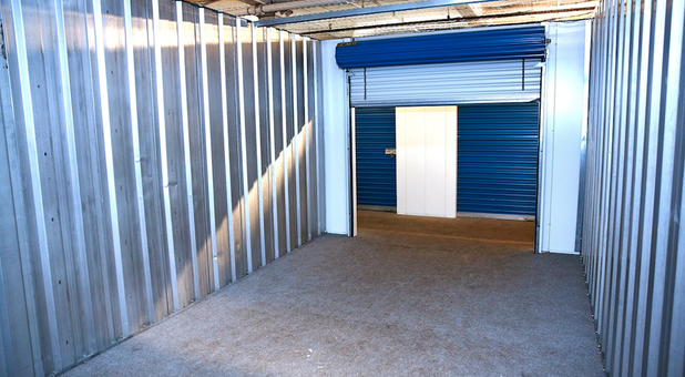 Large units with roll up doors