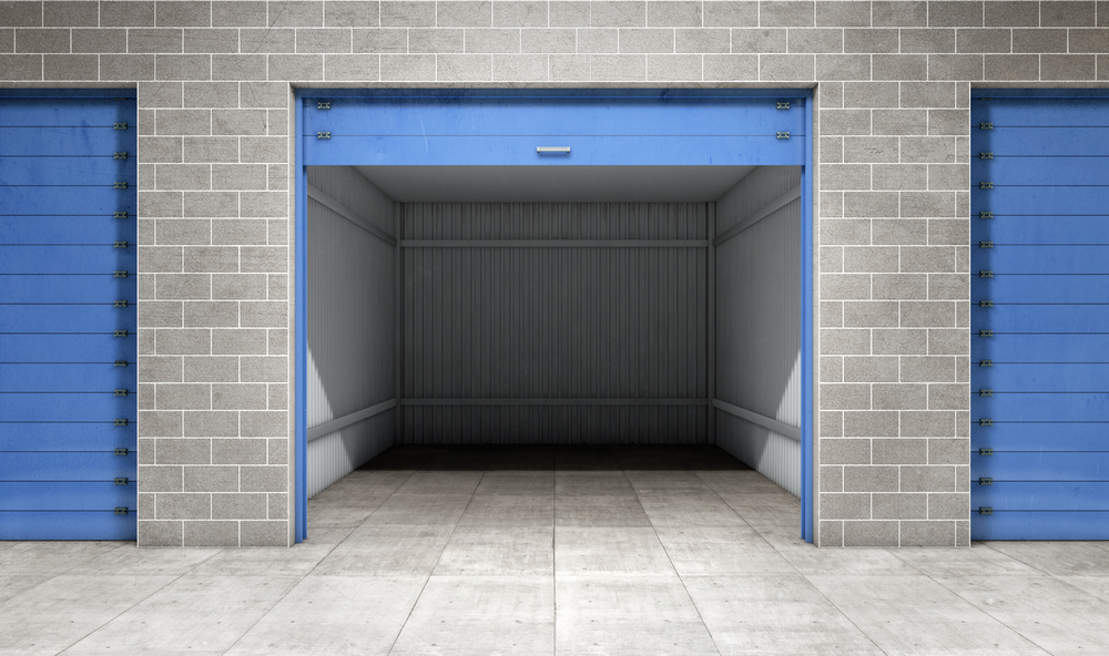Empty Self Storage Unit