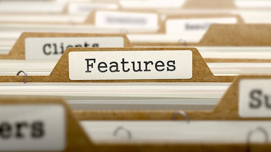 File Features Storage Unit