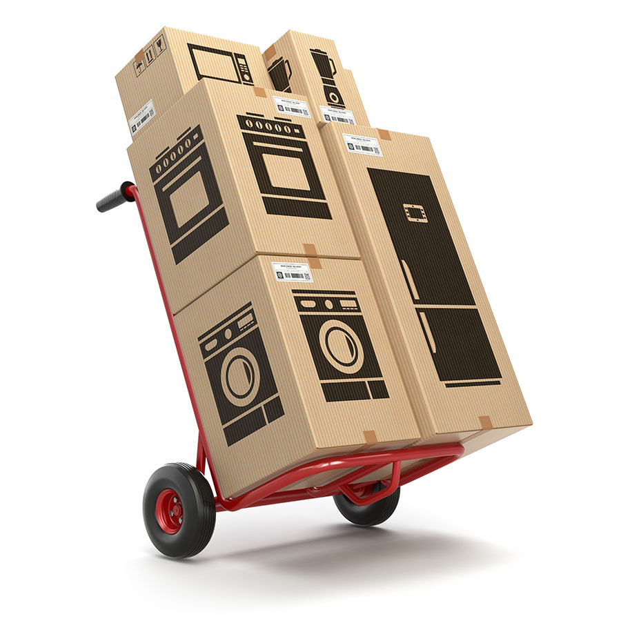 Hand Truck Appliance Boxes