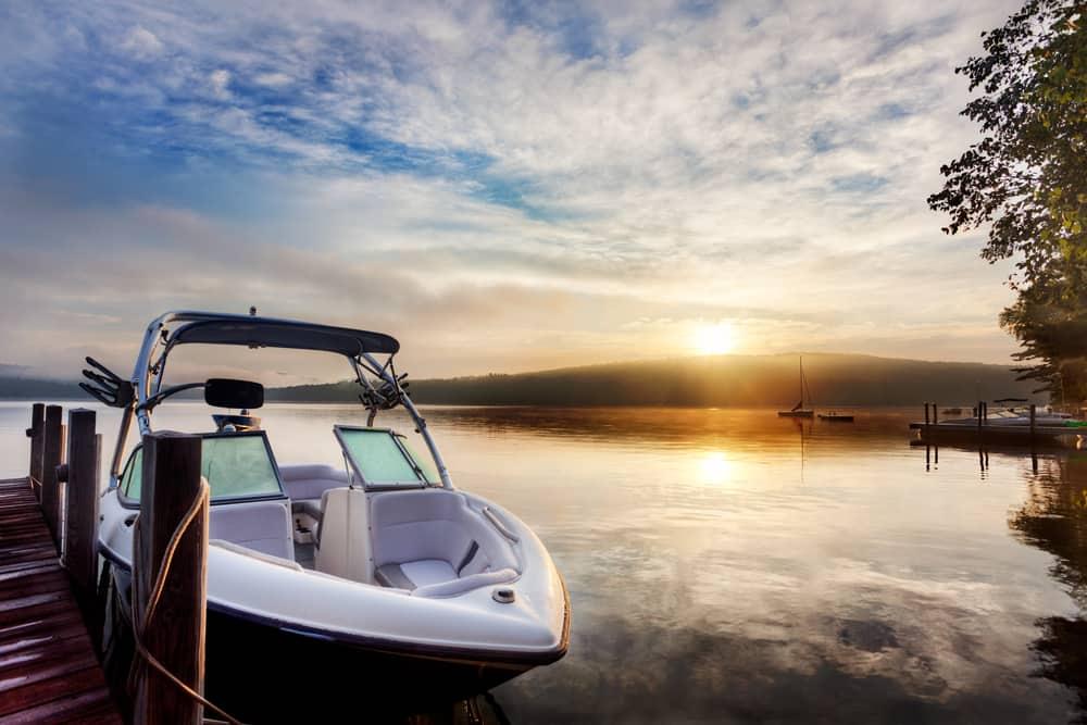 Self Storage Boat Winterized