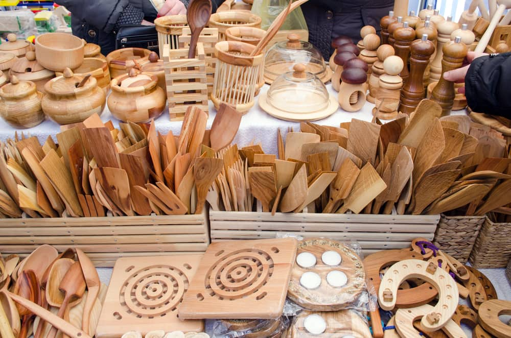 crafts at an ozarks area craft fair before self-storage