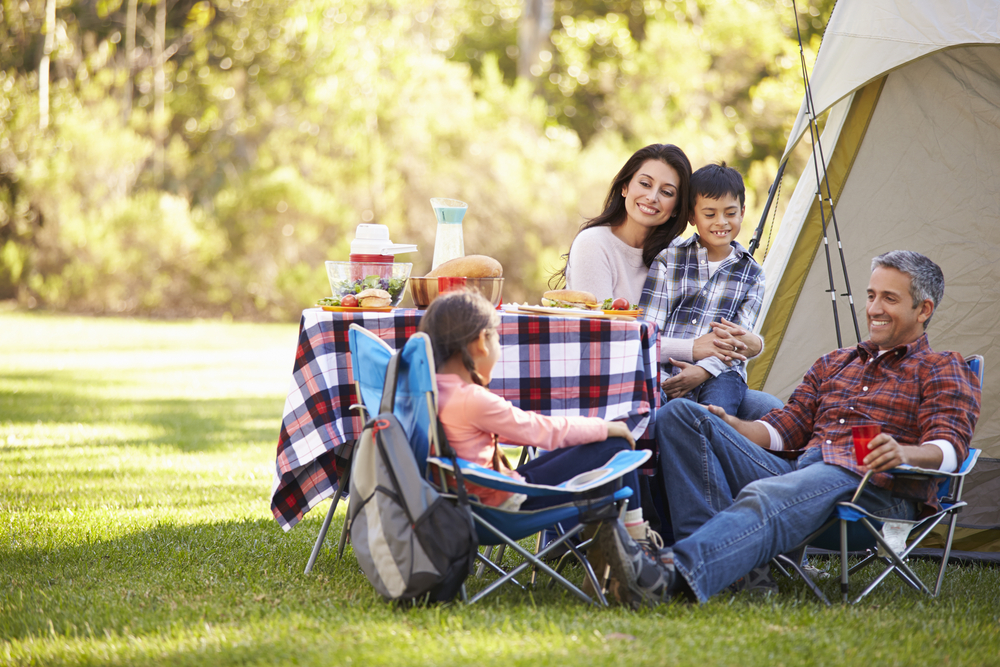Affordable Family Storage - family camping.