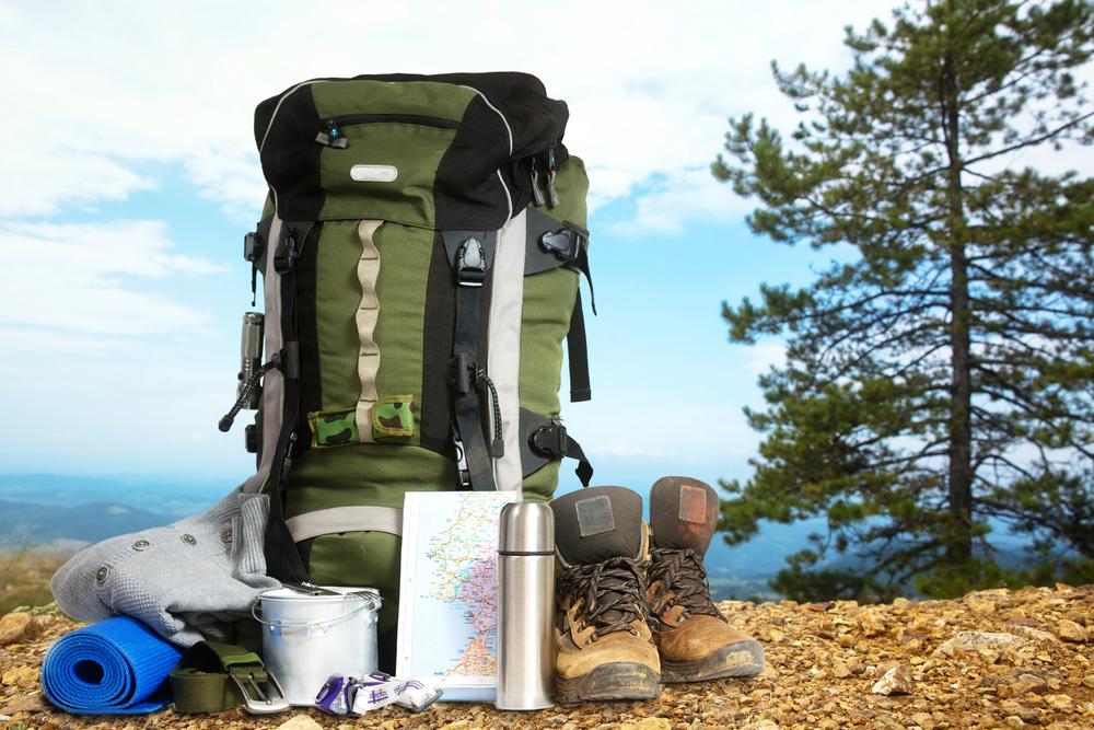 Storage rental - hiking gear.