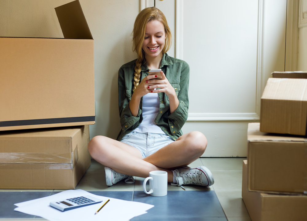Affordable Family Storage girl moving out of parents' house