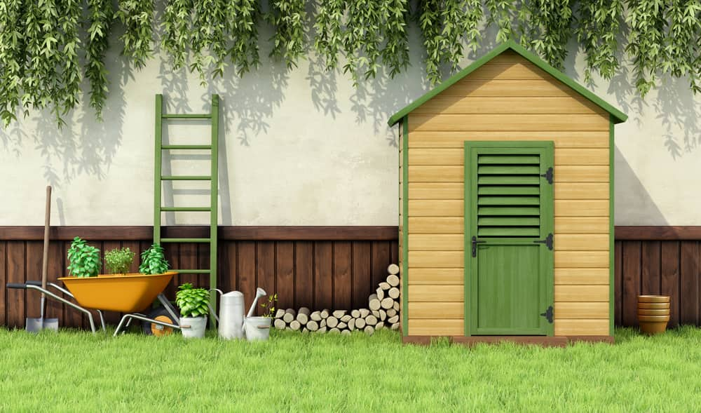Clean Out Your Garden Shed with a Self Storage Unit   Affordable ...