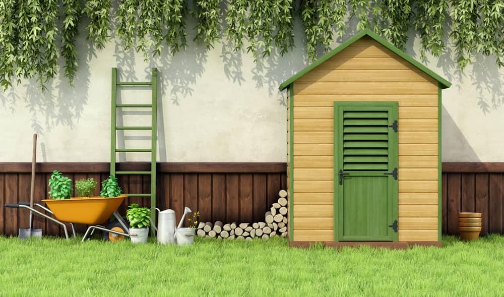 Self Storage Garden Shed