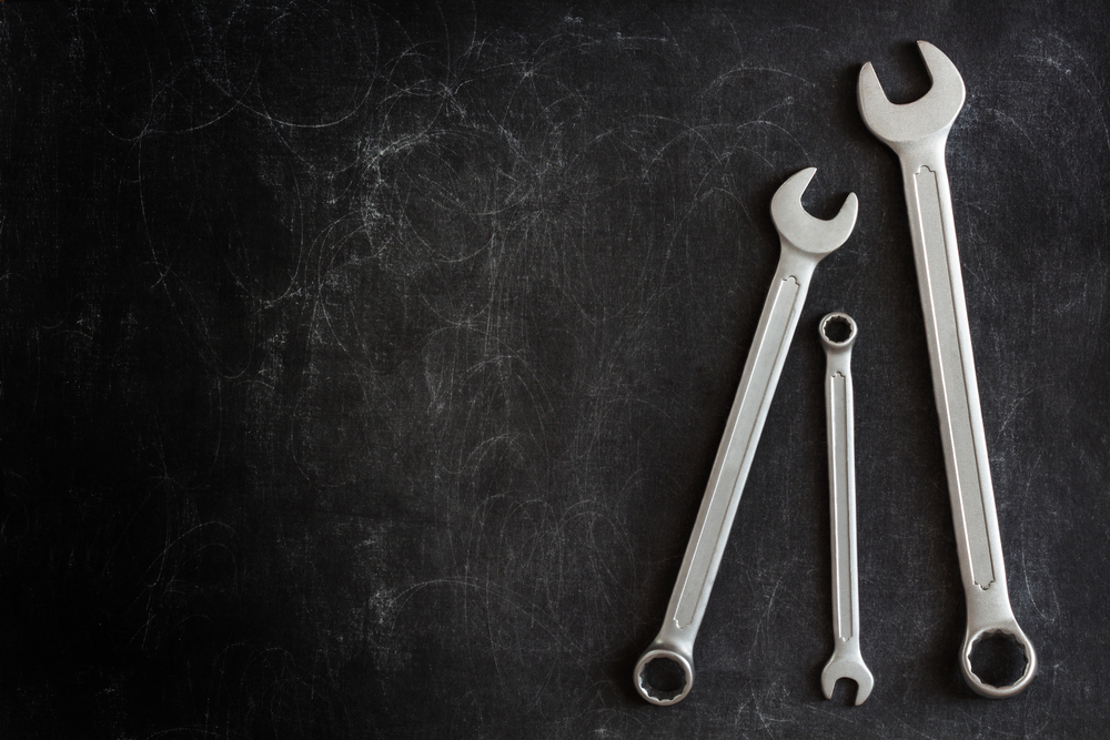 Storage rental - wrenches.