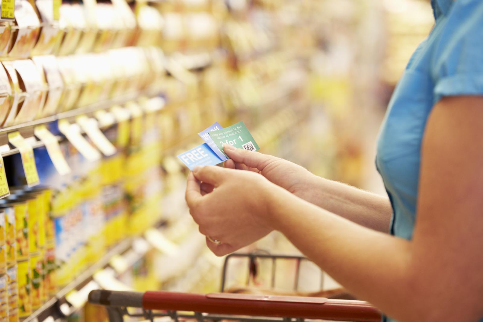 female extreme couponer needs storage solutions