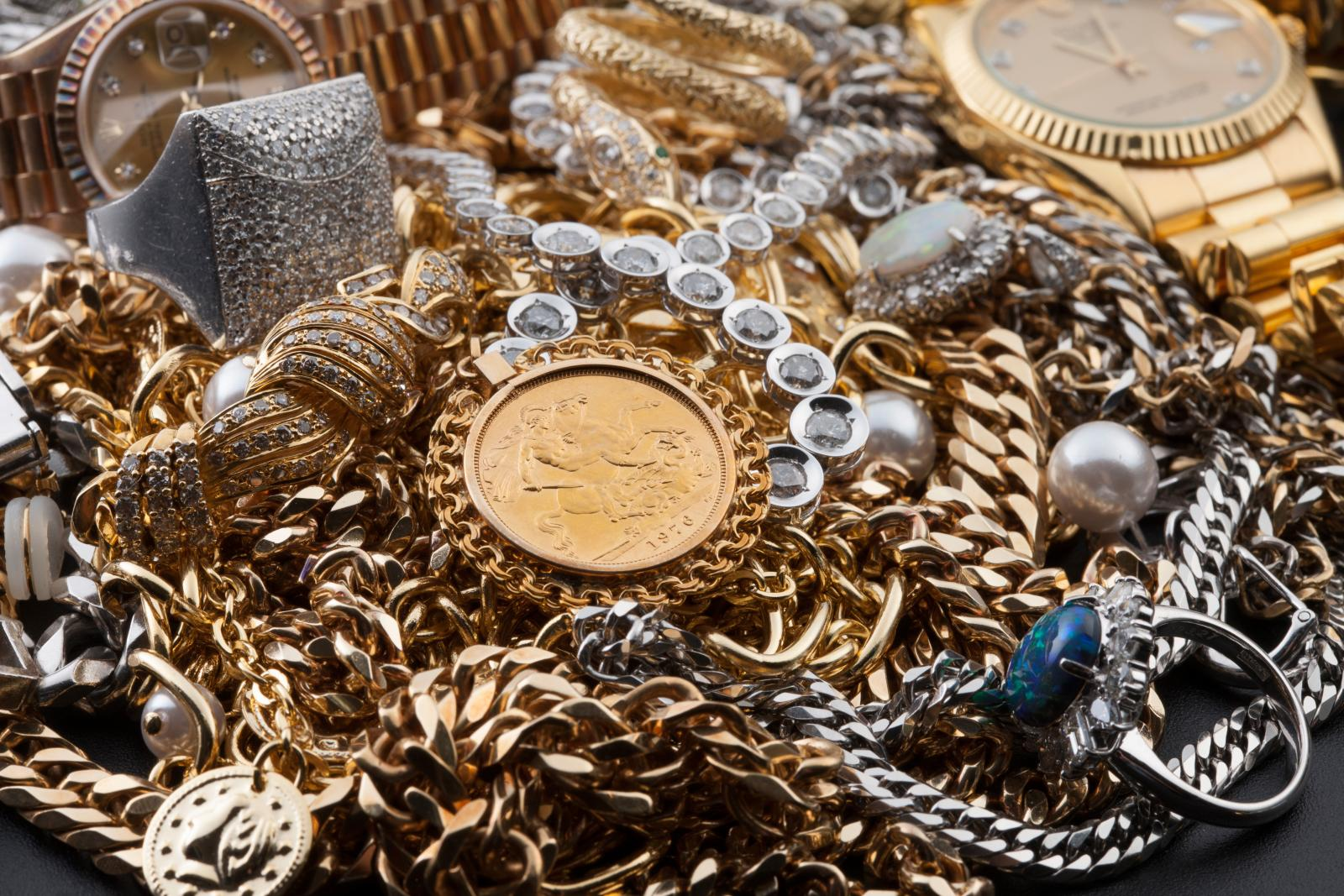 Precious metals in need of preparation for storage unit.