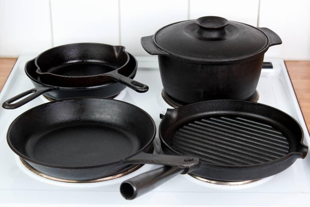 Cast Iron Pot Pan Skillet
