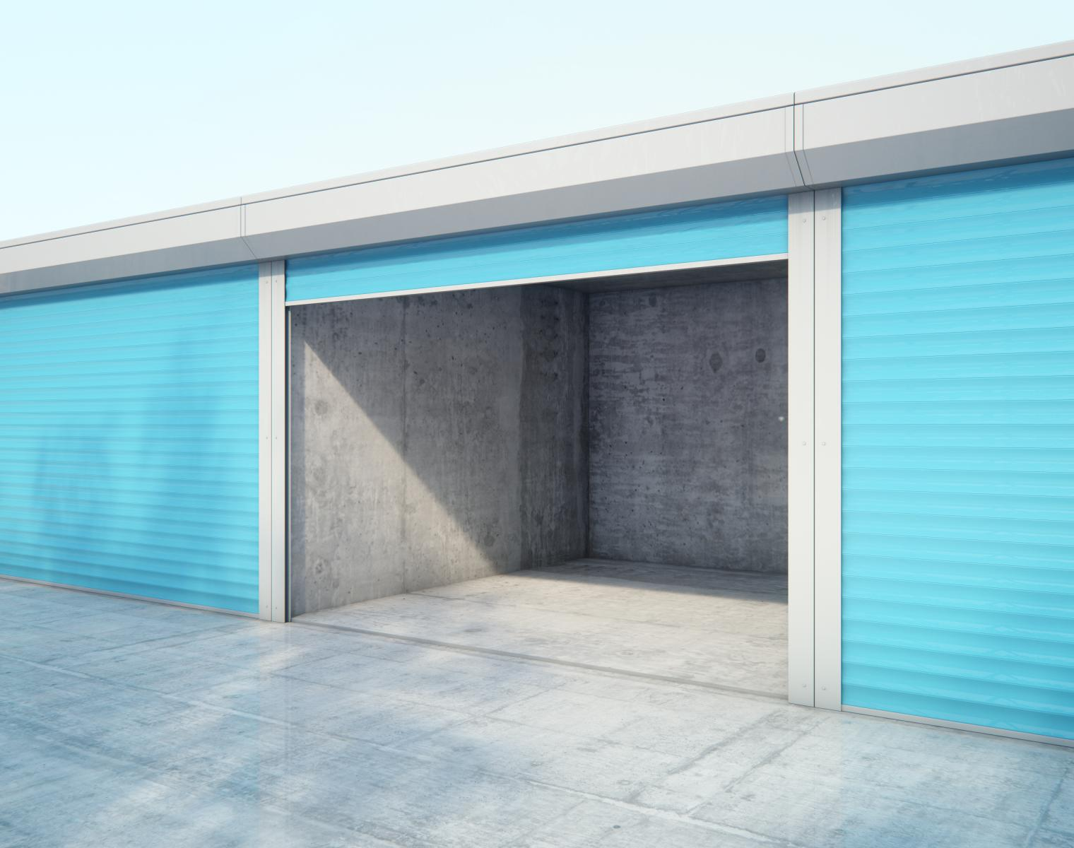 empty storage space from Affordable Family Storage