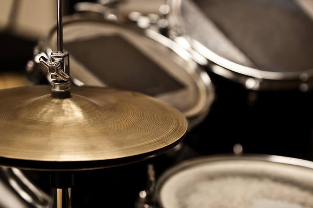 Drum kits close-up