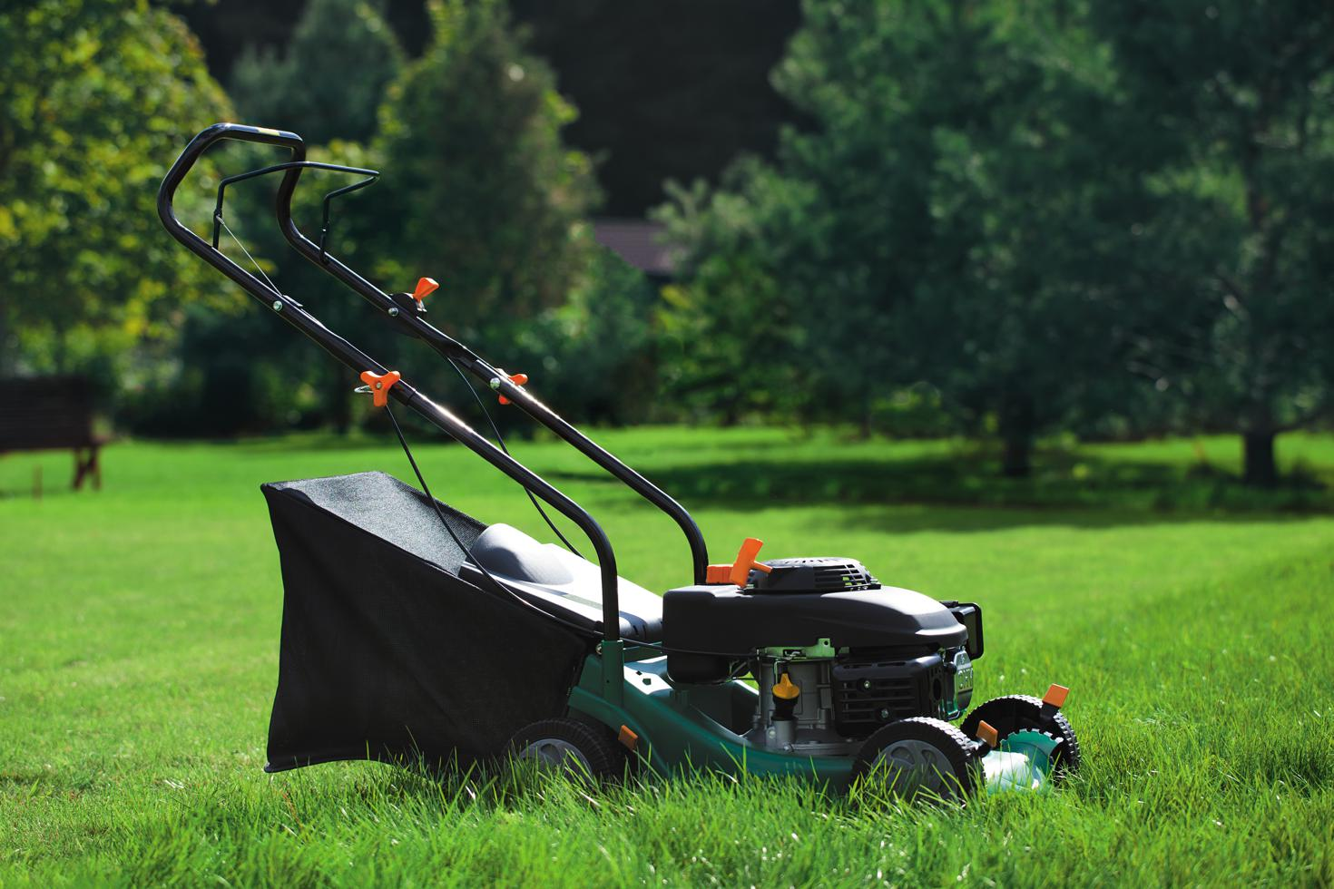 Storing a lawn mower at Affordable Family Storage