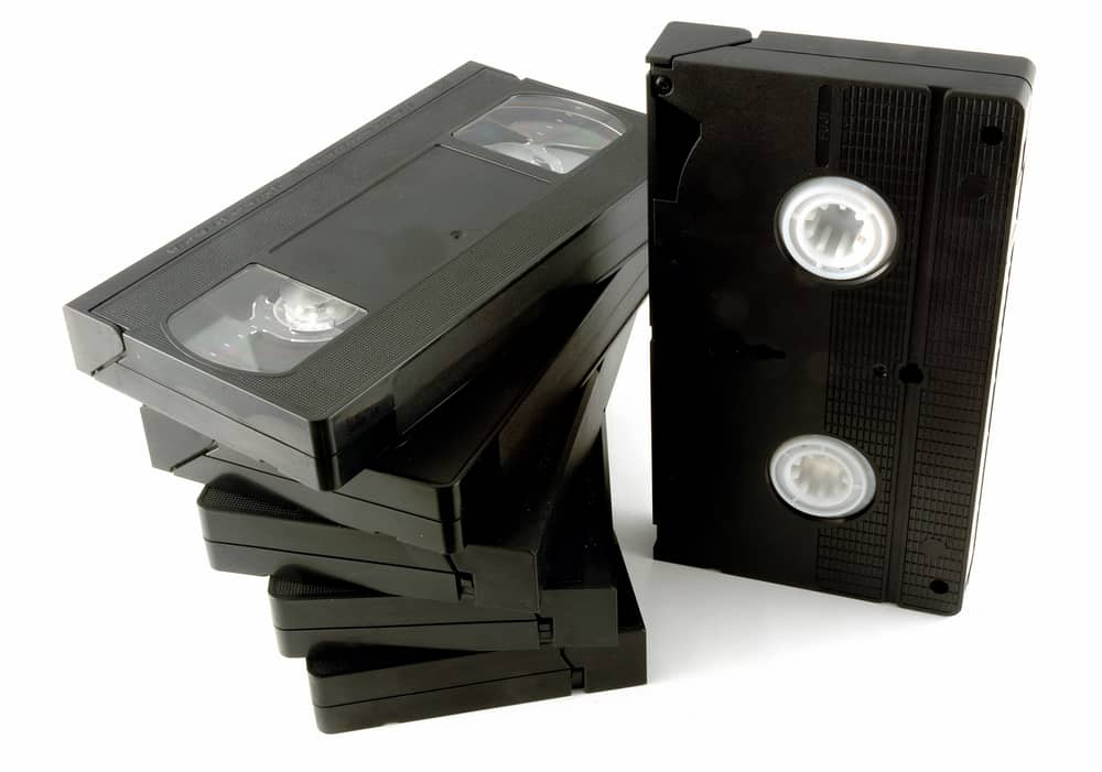 Video Tape VHS Stack Storage