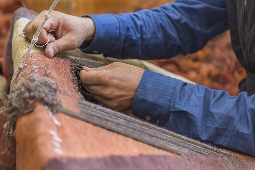 Storage solutions antique textiles