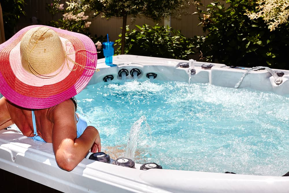 Storage Solutions with a Hot Tub
