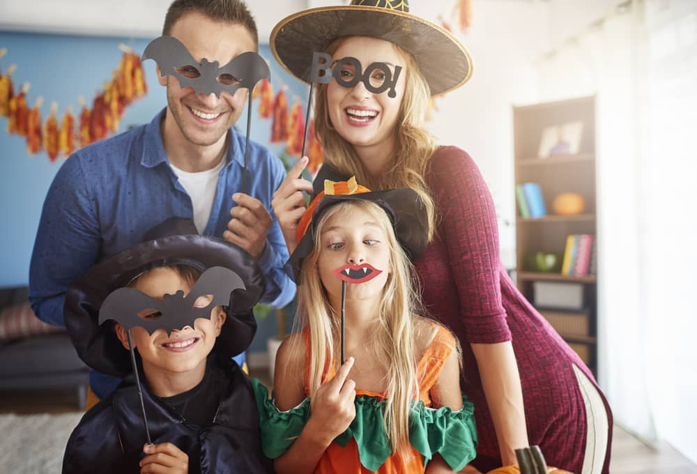 Halloween Costume Family Storage