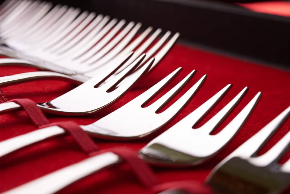 Silverware Fork Storage Case