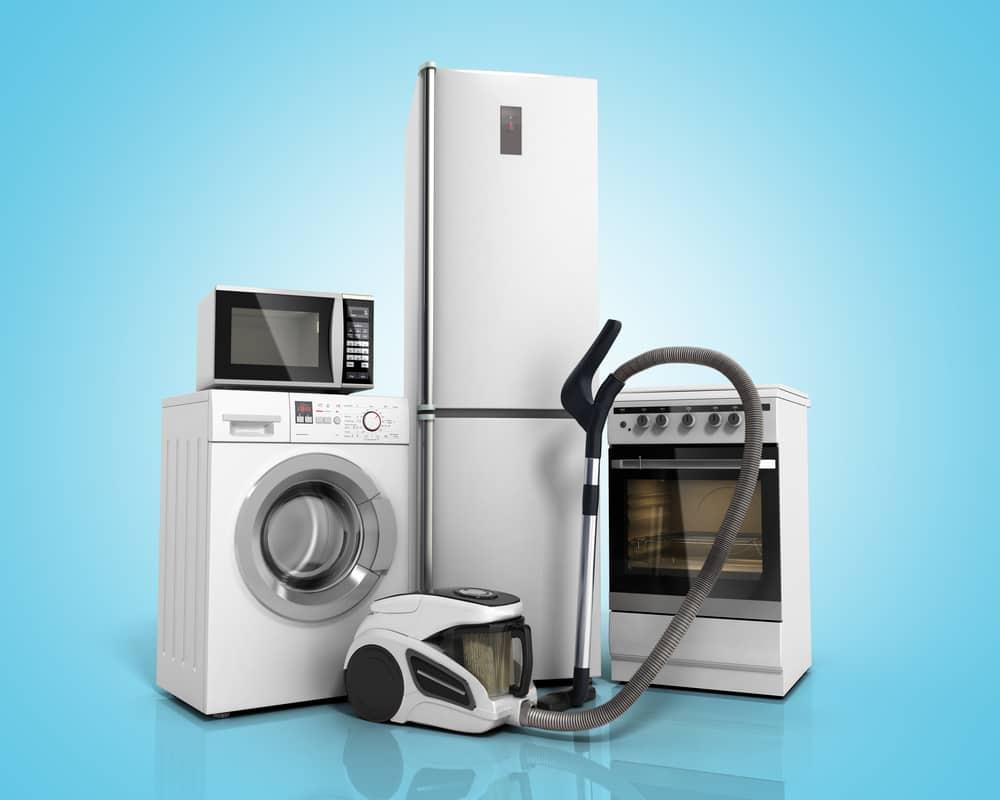 Storage Unit with Appliances