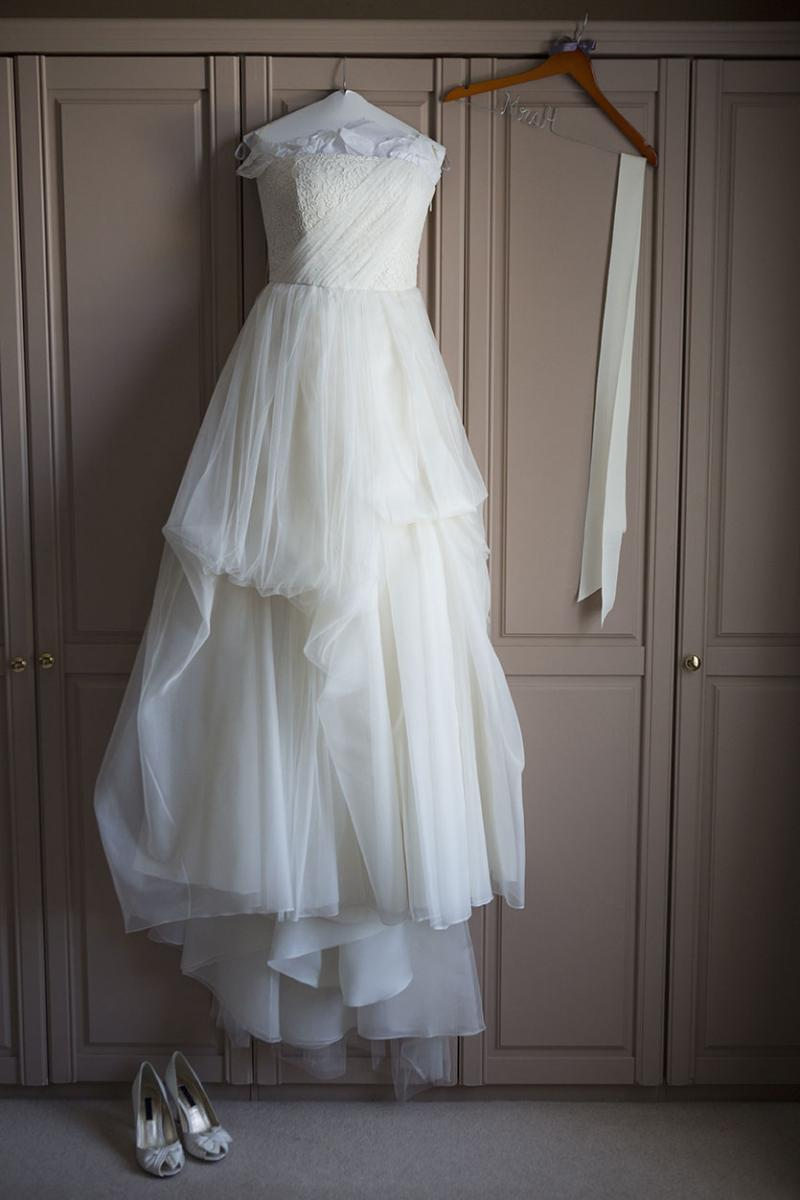 Wedding dress in need of climate-controlled self storage unit