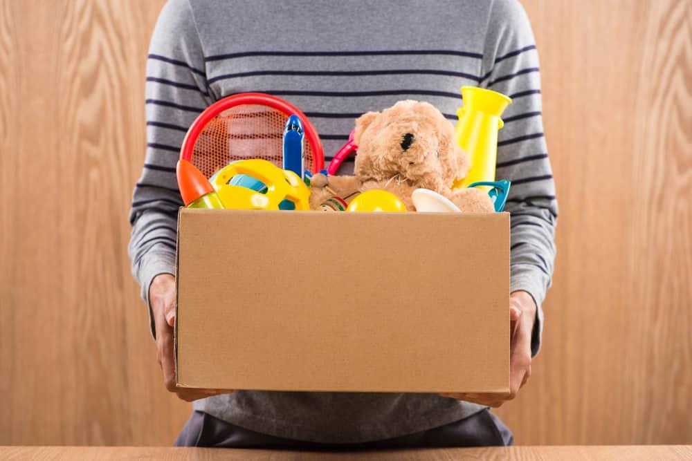 Toy Box Man Storage