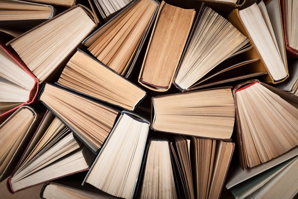 Self Storage with Old Books