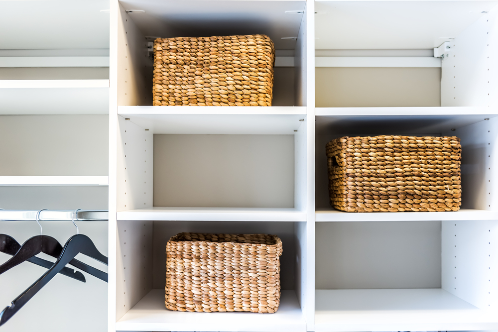 Bathroom With Creative Storage Solutions