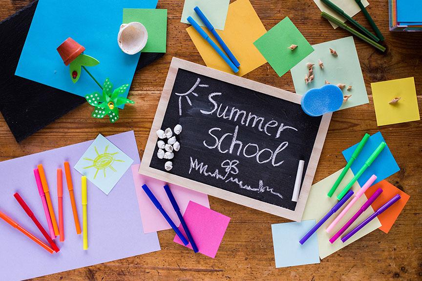 summer school sign