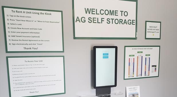 Self Serve Kiosk Service Center