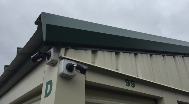 Security Cameras Located Throughout Facility