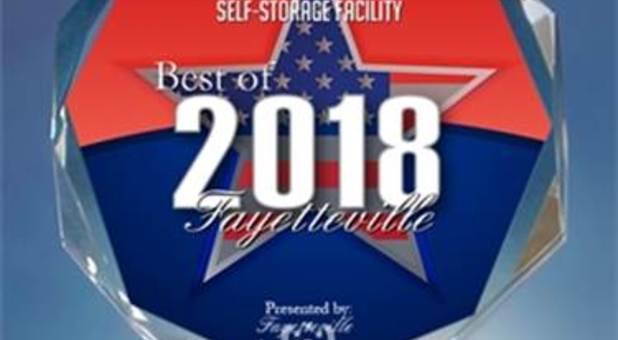 2018 Best of Fayetteville Award