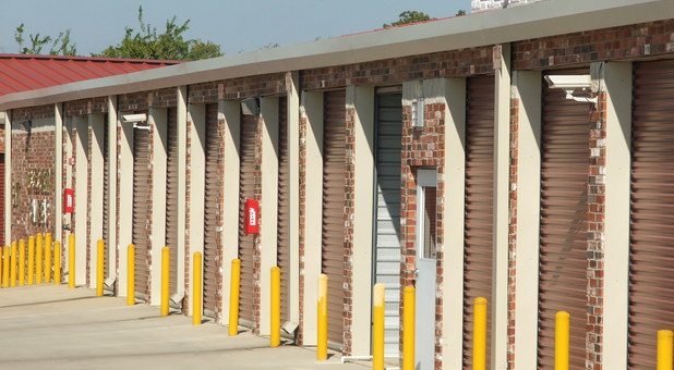 drive up access to storage units