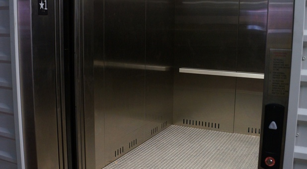 elevators large enough for whatever you may be storing