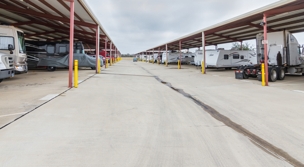 covered rv parking in fort worth tx