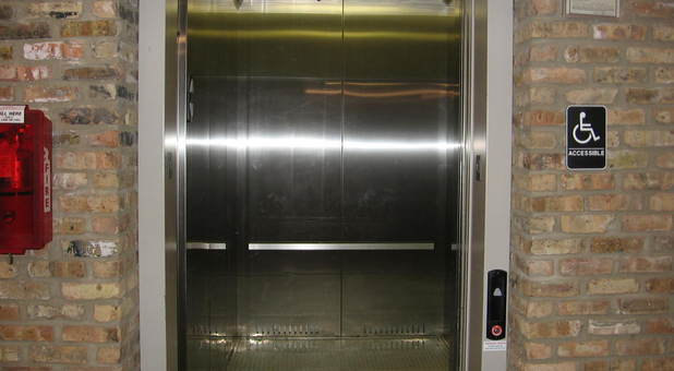 freight sized elevators available