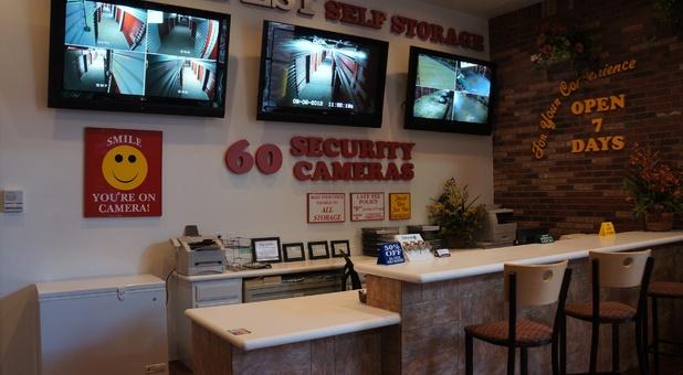 security cameras roll nonstop