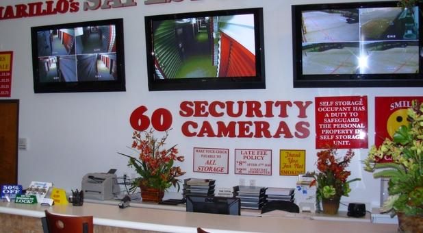 60 24 hour security cameras