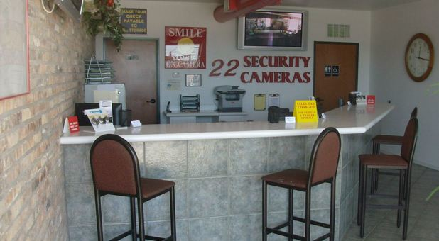 22 security cameras safeguarding your storage units