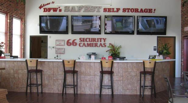 66 security cameras rolling nonstop
